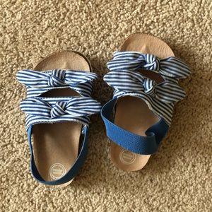 Blue Size 6 Toddler Sandals